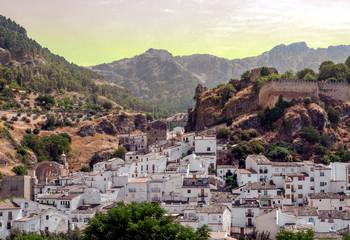 Cazorla village in Andalusia