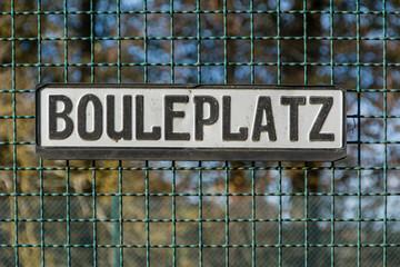Bouleplatz
