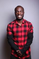 Portrait of a black man