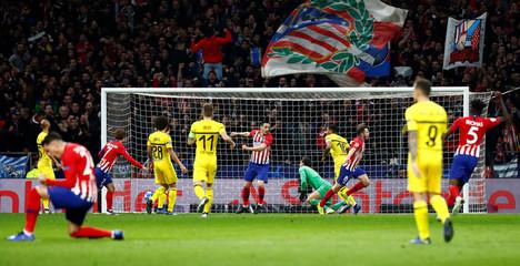 Champions League - Group Stage - Group A - Atletico Madrid v Borussia Dortmund