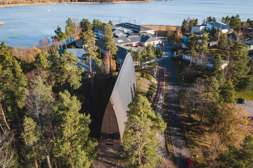 St. Henry's Ecumenical Art Chapel in Turku Finland. Free entry, no photography restriction.