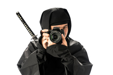 忍者・カメラ