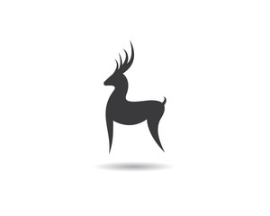 Deer symbol illustraation