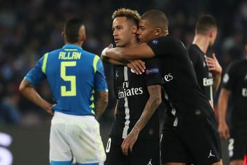 Champions League - Group Stage - Group C - Napoli v Paris St Germain