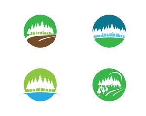 Pine symbol illustration