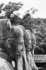 Imperial Tomb Statues in Hue, Vietnam
