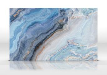 Blue marble Tile texture
