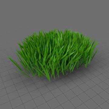 Stylized patch of grass