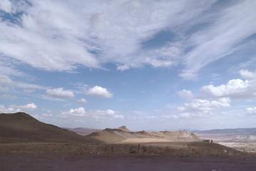 view of capadocia, the white mountains,
