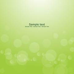 buble green background logo design vector