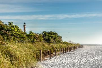 Light tower Sanibal Island, Florida