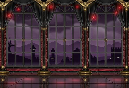 ballroom design background wallpaper