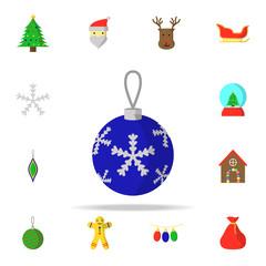 Christmas tree ball icon. CHRISMAS icons universal set for web and mobile