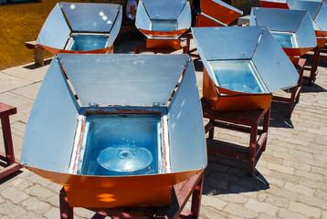 Cocinas alternativas con energía solar
