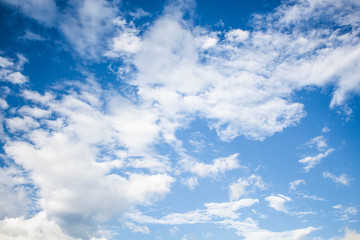 Background from beautiful blue sky with cloud.