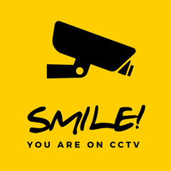 Smile you are on cctv box