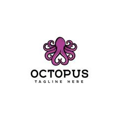 Octopus logo design vector, octopus logo design, simple octopus vector