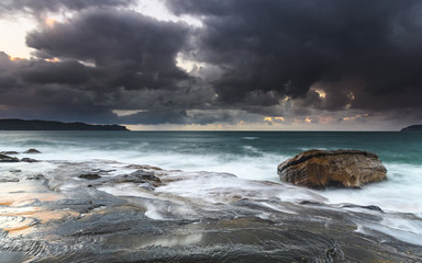 Dark and Moody Seascape