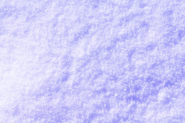 Snow background with white snowflakes