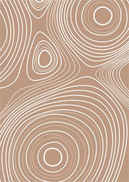 Abstract wood grain