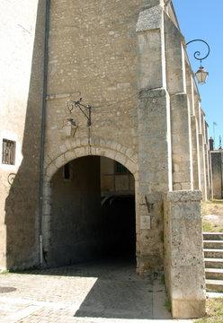 Voûte saint-Georges, château de Beaugency, Val de Loire, département du Loiret, France