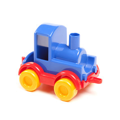 colour plastic train