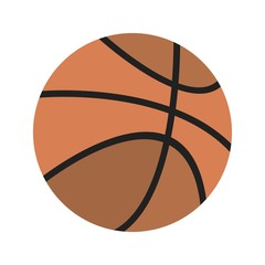 Basket Ball Education Flat Icon