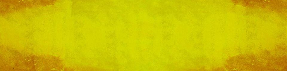 Gelber Wasserfarbe Hintergrund Header