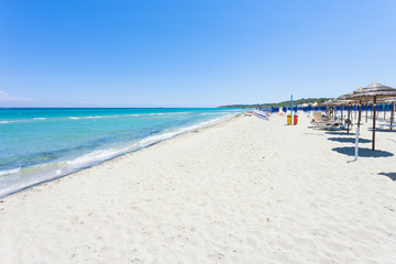 Alimini Grande, Apulia - Visiting the huge beach of Alimini Grande