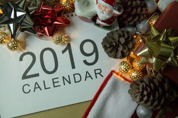 The Happy new year and Christmas celebration image background.