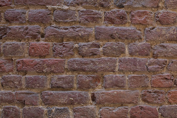 background brown dark texture wall of blocks