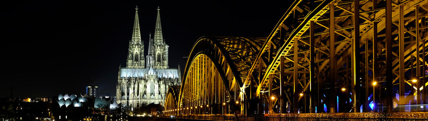 Cathedral of Cologne by Night