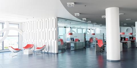 Modern corporate workspace