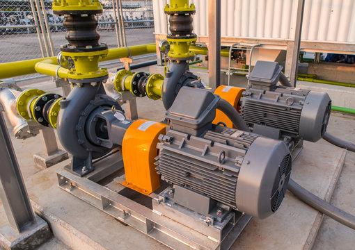 Water pump motor Pressure in factory Industrial