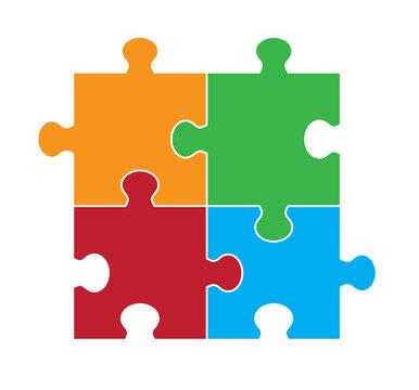 Four Part Puzzle Image
