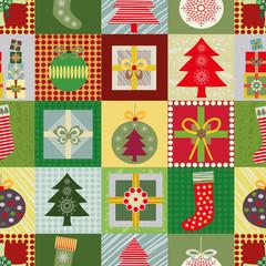 Patchwork Christmas Motifs