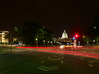 Washington, D.C. at night