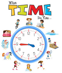 Clock and activity time