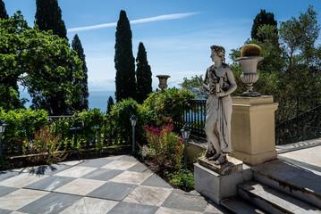 Achilleion von Kaiserin Sissi auf Korfu in Griechenland