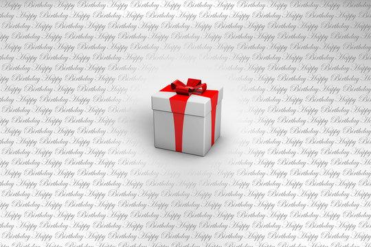 HAPPY BIRTHDAY 3D Gift Mountain