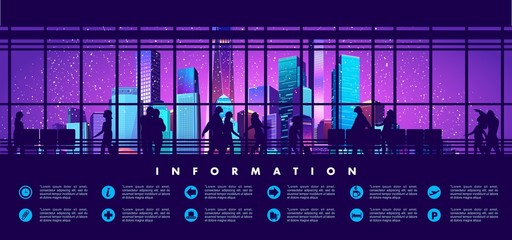 information board station