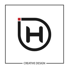 Initial Letter H Logo Template Vector Design