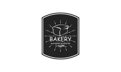 bakery logo design template vector illustration
