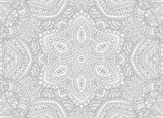 Drawing lines concentric abstract pattern