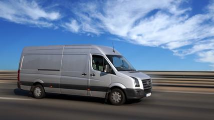 Lieferwagen/ Kundenservice on tour......