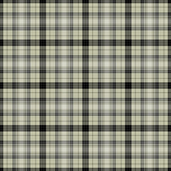 Seamless Neutral Plaid Pattern