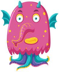 A bizarre monster character