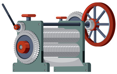 A flat engineer engine