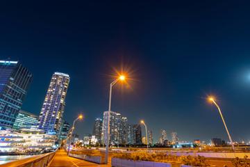 神奈川県横浜市の夜景