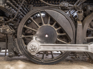 Drive Wheel & Coupling Rod